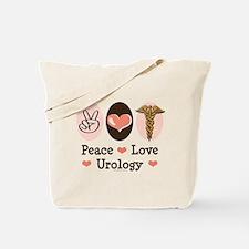 Peace Love Urology Tote Bag