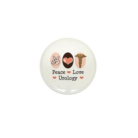 Peace Love Urology Mini Button (100 pack)