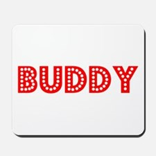 Retro Buddy (Red) Mousepad