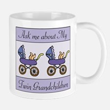 ASK ME ABOUT MY TWIN GRANDCHI Mug