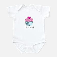 Cute Life is good Infant Bodysuit