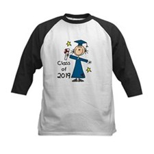 Stick Figure Girl Grad 2014 Tee