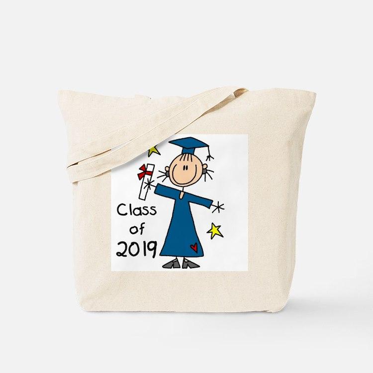 Stick Girl Grad 2016 Tote Bag