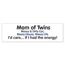 Mom of Twins: Energy Bumper Bumper Sticker