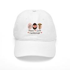 Peace Love Cardiology Baseball Cap
