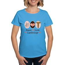 Peace Love Cardiology Tee