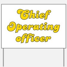 Retro Chief Opera.. (Gold) Yard Sign