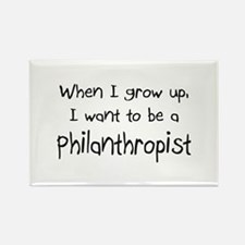 When I grow up I want to be a Philanthropist Recta