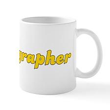 Retro Choreographer (Gold) Small Mug
