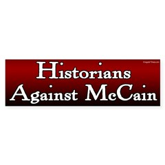 Historians Against McCain bumper sticker
