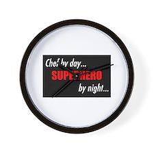 Cute Superheroes Wall Clock
