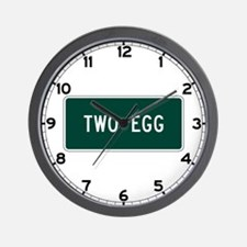 Two Egg, FL (USA) Wall Clock
