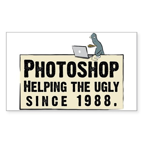 Photoshop - Helping the Ugly Rectangle Sticker 10