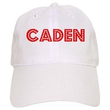 Retro Caden (Red) Baseball Cap