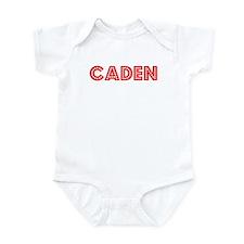 Retro Caden (Red) Infant Bodysuit