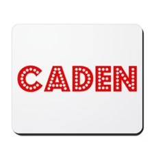Retro Caden (Red) Mousepad