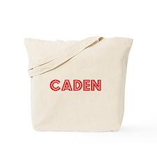 Retro Caden (Red) Tote Bag