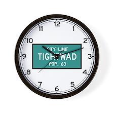 Tightwad, MO (USA) Wall Clock