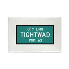 Tightwad, MO (USA) Rectangle Magnet
