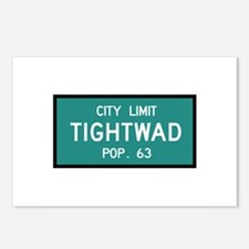 Tightwad, MO (USA) Postcards (Package of 8)