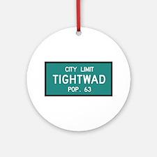 Tightwad, MO (USA) Ornament (Round)