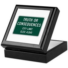 Truth Or Consequences, NM (USA) Keepsake Box