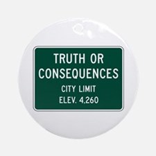 Truth Or Consequences, NM (USA) Ornament (Round)