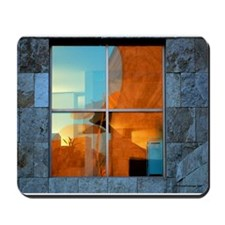 Abstract in a Window Mousepad
