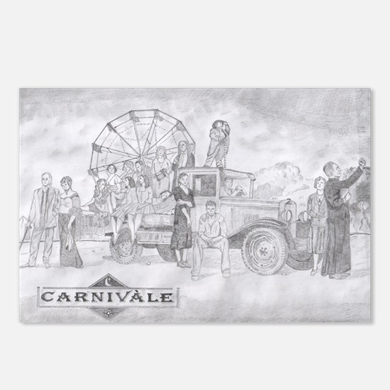 Dustbowl Postcards (Package of 8)
