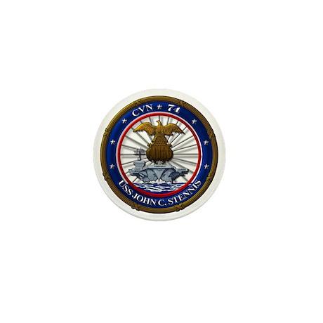 USS John C. Stennis CVN-74 Mini Button (100 pack)