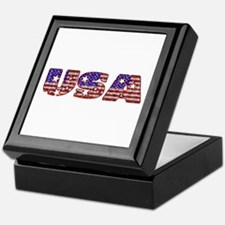 USA Keepsake Box