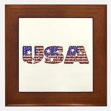 USA Framed Tile