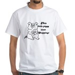 THIS LITTLE PIGGY WENT SHOPPING White T-Shirt