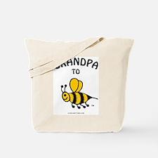 Cute Grandpa bee Tote Bag