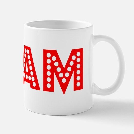 Retro Cam (Red) Mug