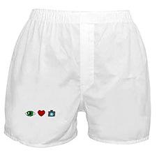 WTD: I Love Photography Boxer Shorts