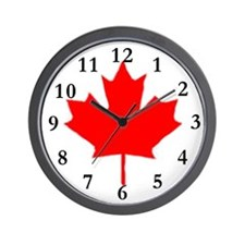 Cute Canadian hockey Wall Clock