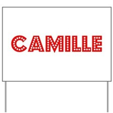Retro Camille (Red) Yard Sign
