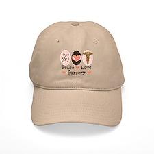 Peace Love Surgery Cap