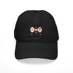 Peace Love Surgery Black Cap