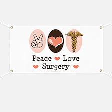 Peace Love Surgery Banner