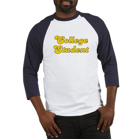 Retro College Stu.. (Gold) Baseball Jersey