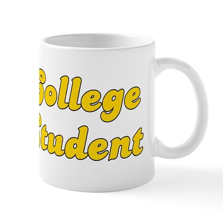 Retro College Stu.. (Gold) Mug