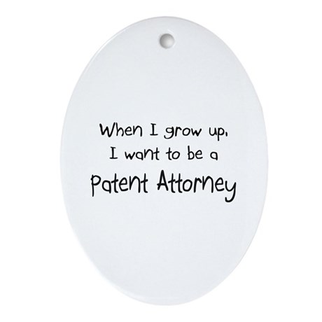 When I grow up I want to be a Patent Attorney Orna