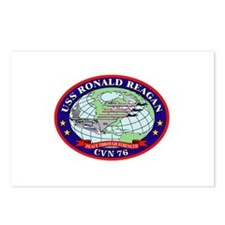 USS Ronald Reagan CVN-76 Postcards (Package of 8)