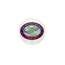 USS Ronald Reagan CVN-76 Mini Button