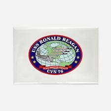 USS Ronald Reagan CVN-76 Rectangle Magnet