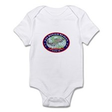 USS Ronald Reagan CVN-76 Infant Bodysuit