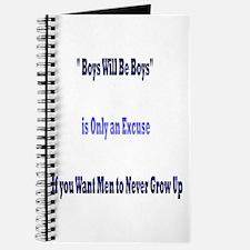 Boys Will Be Boys Journal