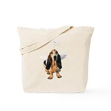 Basset Hound Angel Tote Bag